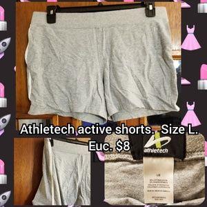 Athletech size L active shorts